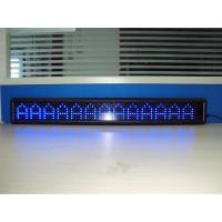CE P7.62 Electronic Single Color Led Advertising Display 244mm * 488mm
