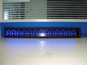 China CE P7.62 Electronic Single Color Led Advertising Display 244mm * 488mm on sale
