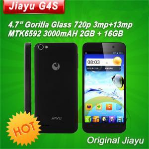China 4.7 Inch IPS Screen Octa Core MTK6592 Android 4.2 Smart Phone 2gb ram jiayu g4 advanced Jiayu G4S phone on sale