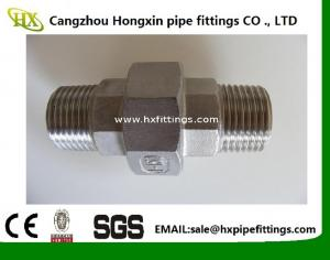 China UNION 316 316L 304 304L STAINLESS STEEL 1/4 NPT FEMALE THREADED FITTING PIPE Class 150 on sale