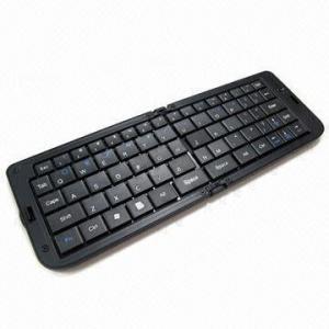 China Folding Bluetooth Keyboard for iPad/iPhone on sale