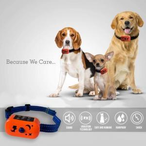 China Electronic Dog Beeper Collar 3.7V Battery Anti Barking Device on sale