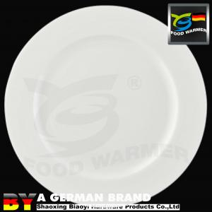 China G20 Summit Supplied Bone China Made 5 White Porcelain Round Rim Plate for Small Dissert on sale