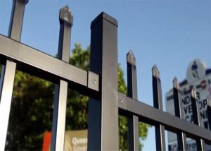 China Hercules Security Fencing 2100mm x 2400mm ,65mm x 65mm post on sale