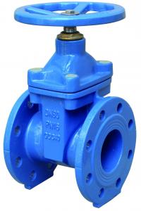 China Anti Rust Resilient Wedge Gate Valve Ductile Iron Gate Valve Long Working Life on sale