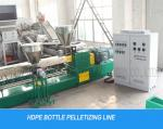 HDPE Bottle Waste Plastic Recycling Pelletizing Machine Line For HDPE Flakes
