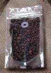 Transparent Food Grade Coffee Bean Packaging Bags / Clear Coffee Valve Bag with Ziplock
