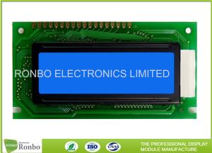 China Blue Negative Color Lcd Module Customized Lightweight With Various Backlight on sale