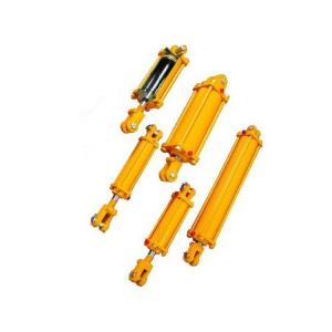 China Double acting standard tie rod cylinder hydraulic on sale