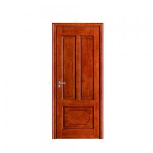 China Main gate design for house solid wooden doors,venner wood door on sale