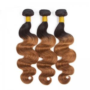 China Grade 8A Three Tone Ombre Hair Extensions 100% Real Hair Material on sale