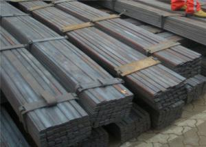 China Rectangular Carbon Steel Flat Bar AISI ASTM BS DIN Multiple Standards Cut Edge on sale