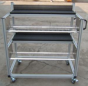 China Lightweight / Durable FUJI NXT Feeder Trolley , Juki Feeder Trolley Storage Cart on sale