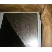 High quality construction material embossed gold 1.2mm stainless steel sheet contract distributor retailer wholesaler