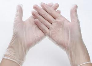 China Transparent Hypoallergenic Disposable Gloves For Medical Examination on sale
