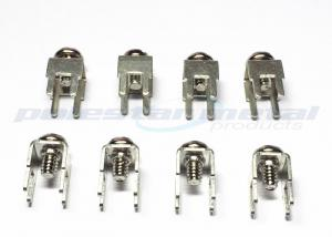 China PC Heavy Duty Terminal Blocks 6-32 W/NCKL Plated Head Brass PCB Terminals on sale