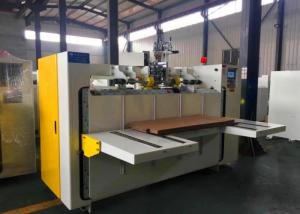 China Single Sheet Nail Type Carton Box Making Machine , Carton Box Stitcher Machine on sale