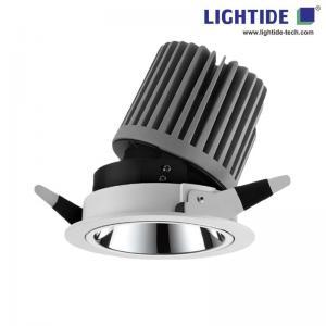 China 7 Recessed LED Down lights, Adjustable direction, CREE 40W, 85-265VAC, 15/24/38 deg. 3 yrs Warranty on sale