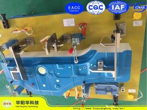China Aluminum CMM Fixture Components/ Holding Fixtures For Automative Parts on sale
