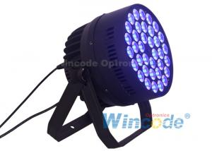China 36*10W RGBW Indoor LED Par Light / Party Event Stage Show Wall Wash Led Par Lamps on sale