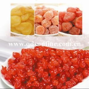 China dried cherry, dried kumquat, strawberry on sale