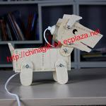 DIY調光器が付いている木製犬ランプ及び収納箱