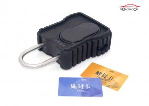 China Realtime Security GPS Tracking Padlock , GPRS Container Tracker GSM Padlock on sale