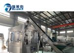 CE ISO Certification Automatic 0.2-2L Rotary Water Bottle Filling Machine For Non-Carbonated Filling
