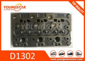 China Casting Iron Kubota Cylinder Head / Truck Spare Parts D1402  D1100 D1503 on sale