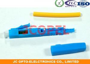 China LC / UPC SM Fiber Optic Fast Connector , Single Mode Fiber LC Connector on sale