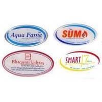China clear round epoxy sticker on sale