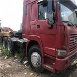 Secondhand HOWO 351 - 450hp Horsepower and Euro 3 Emission Standard /HINO tractor truck