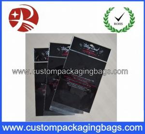 China Clear Header Custom Packaging Bags Plastic OPP Recycled For Crafts on sale