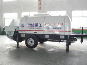 China Trailer Concrete Pump ,60m³/h trailer concrete pump on sale