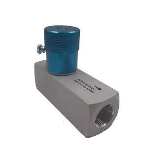China Aluminum Alloy QLAH-20 G3/4 High Pressure Throttle Valve One Way Simple Structure on sale