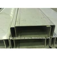 Customized Stainless Steel C Channel / Stainless Steel Channel For Park Project