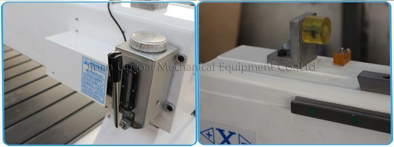 Semi-auto lubrication & hard limit switch