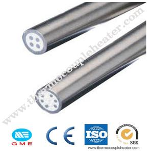 China Industrial MgO Mineral Insulated Cable / MI Cable With Stainless Steel 321 , 310 , 316 Sheath on sale