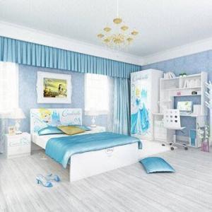China E0 Grade Kids'/Children's Bedroom Furniture, Home Product/Desk/Chair, Disney, Princess on sale