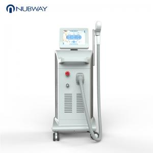 China 2019 alexandrite laser Nubway 755+808+1064 diode laser for all color hair removal laser beauty machine on sale