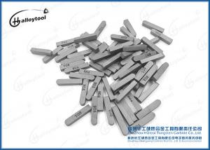 China Carbide welding insert / tungsten carbide tipped tool / tungsten carbide brazing tip F225 on sale