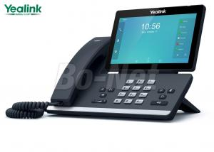 China Smart Media Audio Call VOIP Cisco IP Phone 16 Line Yealink SIP-T56A Gigabit Interface on sale