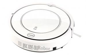 China Automatic Intelligent Robot Vacuum Cleaner With Lcd Screen And Remote Control on sale