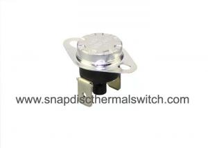 China 70 Deg C KSD301S Manual Reset Snap Disc Thermal Switch For Overheat Protection on sale