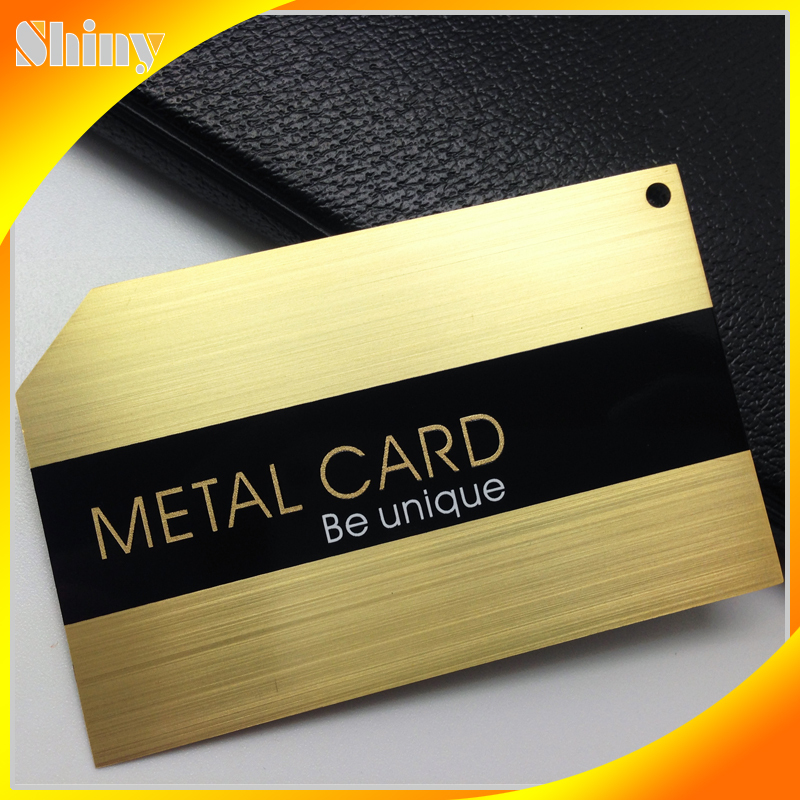 Custom polish logo gold foil business cards for sale – metal ...
