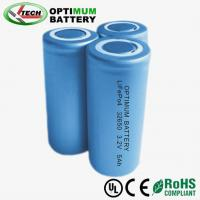 5ah High Power 32650 Rechargeable Batteries 3.2v With CE / ROHS / ISO9001
