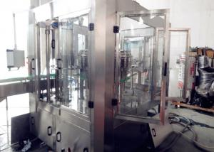 China Automatic Carbonated Water Filling Machine , Glass Bottles Soda Bottling Equipment on sale