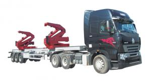 China QYJ-36 side crane for 20' and 40' container lifting with 36 tons lifting capacity on sale