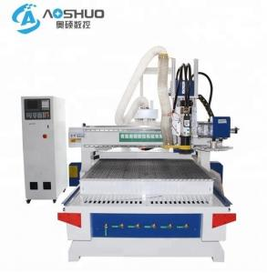 China Heavy Duty Woodworking Cnc Machine / Automated Wood Router Tool Changer on sale