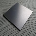 Le fournisseur de la Chine du satin 304 extérieur de la catégorie AISI 430 de feuille d'acier inoxydable ou de la finition NO.4 avec le laser a coupé le film de PVC